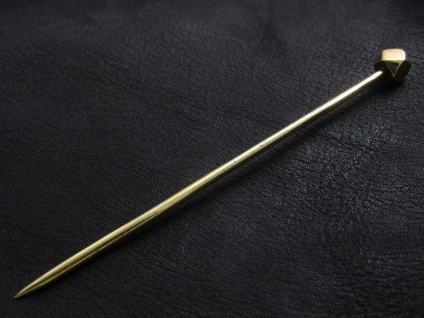 Brass Roman hairpin from The Sunken City by DaWanda.com