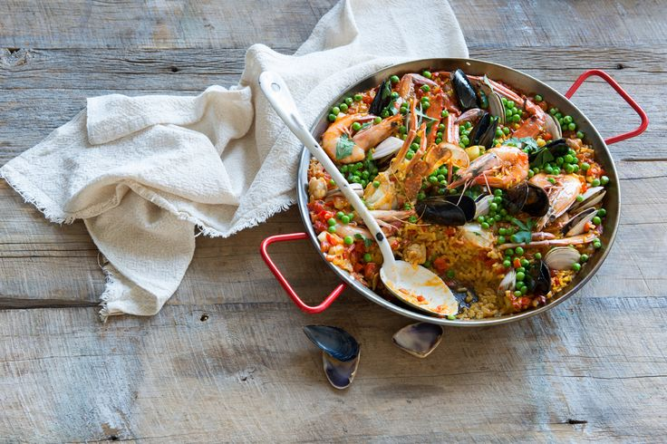 Need another reason to love paella? It's traditionally made on a Sunday by blokes because women need a day off from cooking!  We've been using this recipe for paella from SBS for a long time and it never ever disappoints!