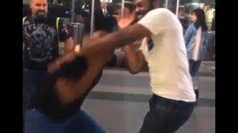 Nick Diaz fight brawl with Khabib Nurmagomedov - YouTube