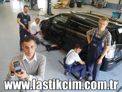 Lastikcim A.Ş. - Yeni bir dünya rekoru, Binek bir aracın lastikleri 1 dakika 33 saniyede değiştirildi.