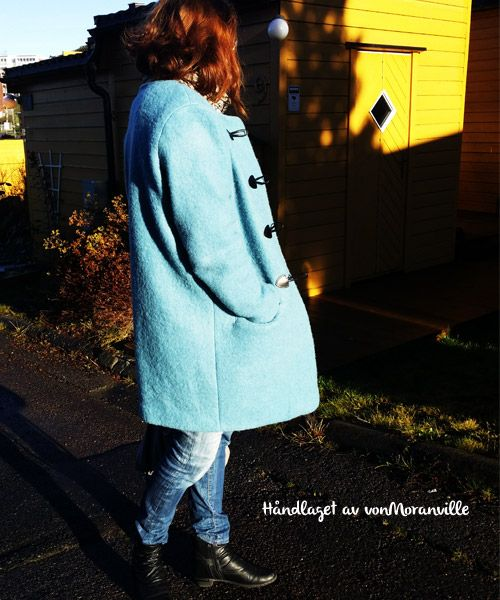 Homemade wool coat, pattern from Stoff&Stil.