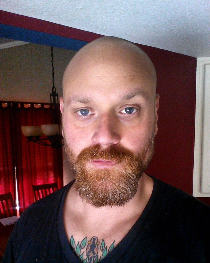 awesome 20+ Reasons to Be Bald With Beard - Find Your Cool Look