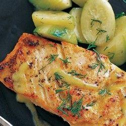 Mustard-Glazed Salmon