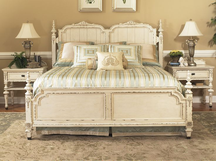 Fairmont Designs Furniture Providence Bedroom Collection Features A Panel Bed Night Stand