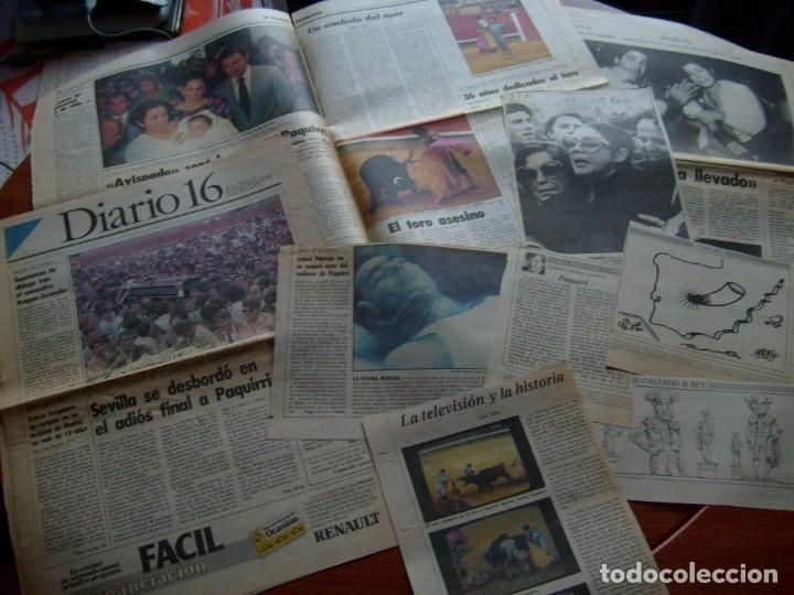 Hemeroteca Papel Recortes Colección Prensa Famosas Fotos Muerte Paquirri 26 Septiembre 1984 Recortes De Papel Sobres De Papel Fotos