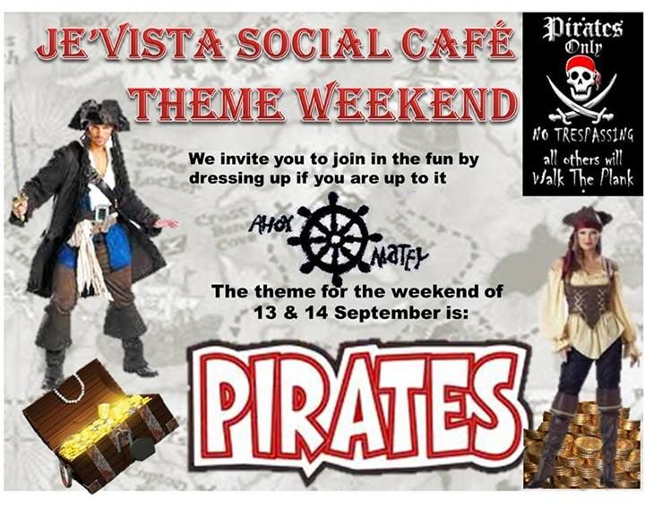 Our past themes - Pirates. Head on over to our Facebook Page for updates on themes and photos.