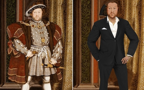 What Shakespeare, Marie Antoinette & Other Historical Figures Would Look Today - DesignTAXI.com