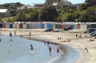 Titahi Bay Beach, Porirua, NZ