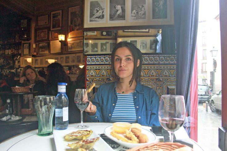 Eating in Madrid. Bodega de la Ardosa