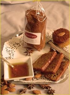 Notre première photo de pain d'épices....