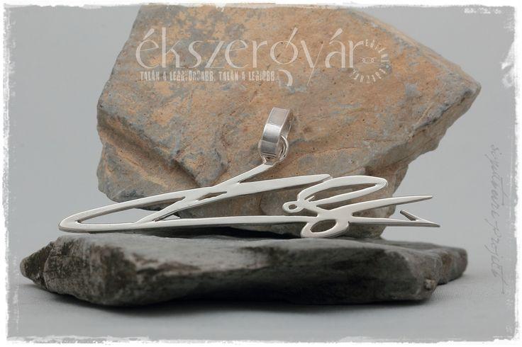 Aláírás medál. 925-ös ezüst.  Signature pendant. Sterling silver. http://ekszergyar.hu/signatureproject/