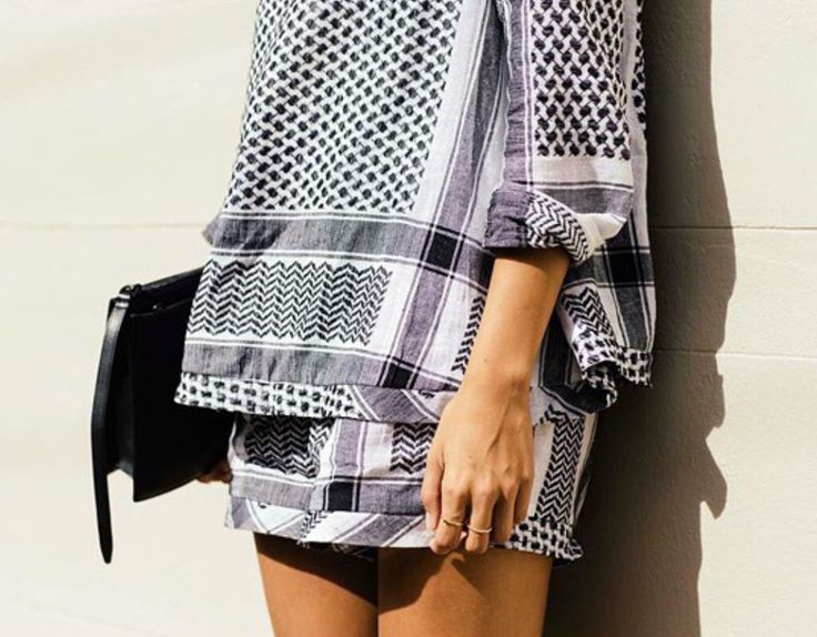 What is behind the beautiful designs of Cecilie Copenhagen and the  Palestinian Keffiyeh?