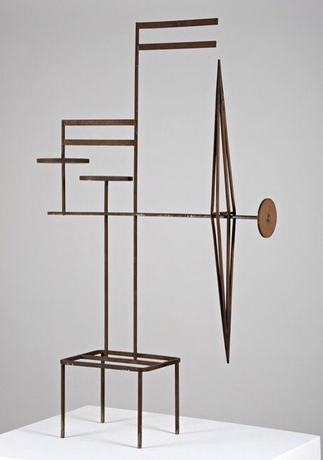 Marlow Moss, Spatial Construction In Steel