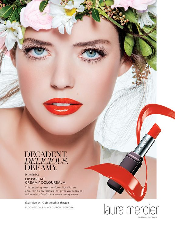 Laura Mercier Cosmetic Advertising