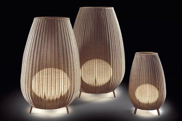 bauchig stehleuchte amphora von bover garten. Black Bedroom Furniture Sets. Home Design Ideas