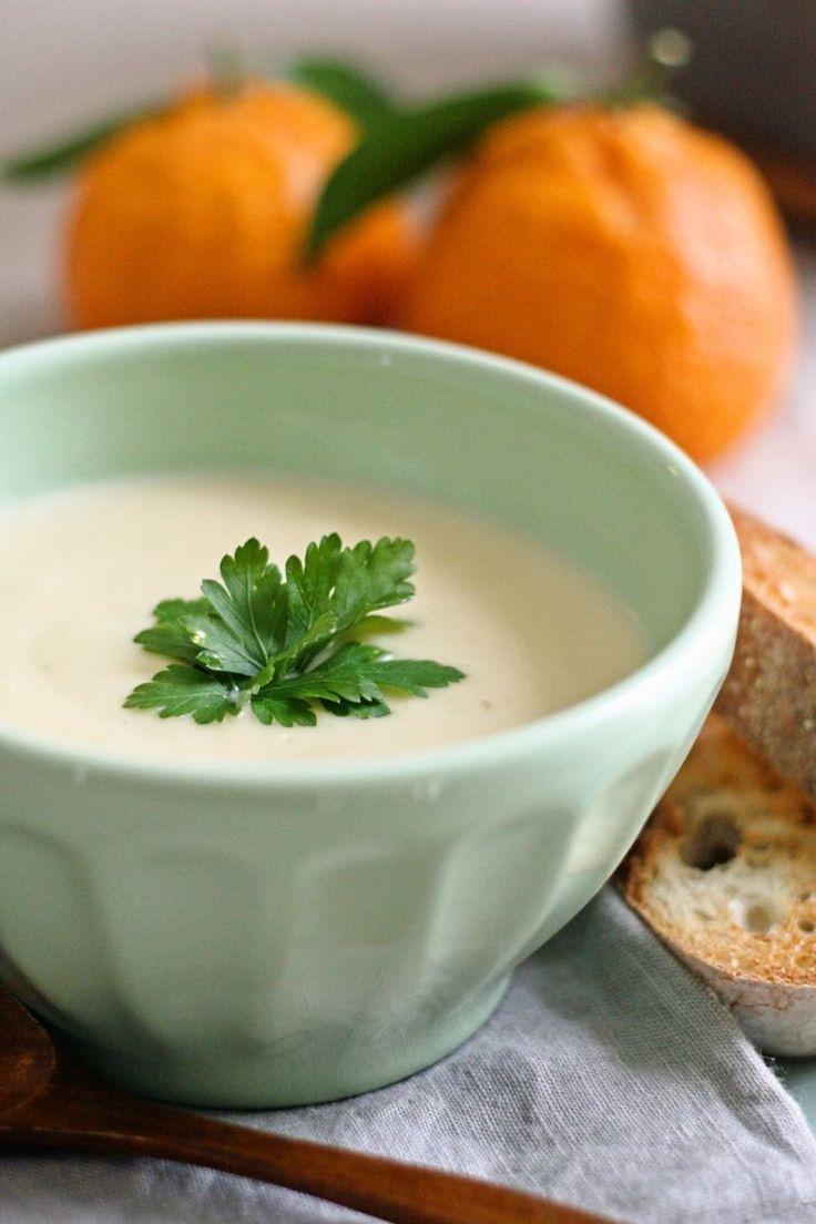 クリーミーなカリフラワースープ