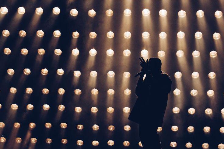 Photo of Kanye West RBC Ottawa Bluesfest Bell Stage 2015