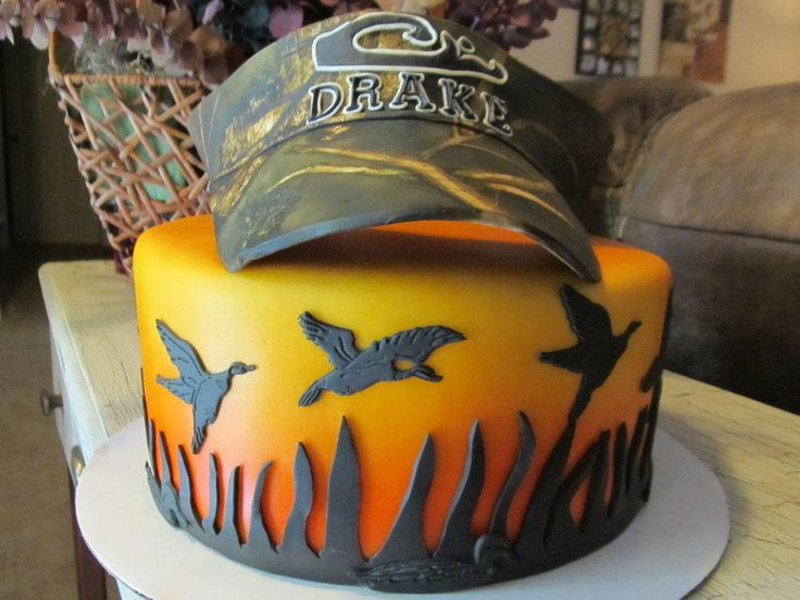 For+The+Love+of+Duck+Hunting+-+Cake+by+Tonya