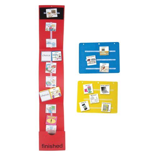 L'orario visivo è perfetto per organizzare la giornata del bambino, soprattutto a scandire le sequenze delle azioni.