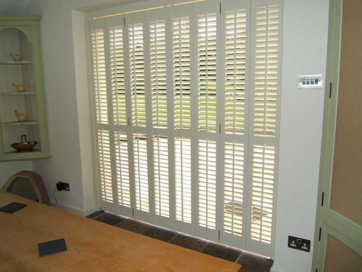 Built In Patio Door Blinds A Good Choice | Drapery Room Ideas