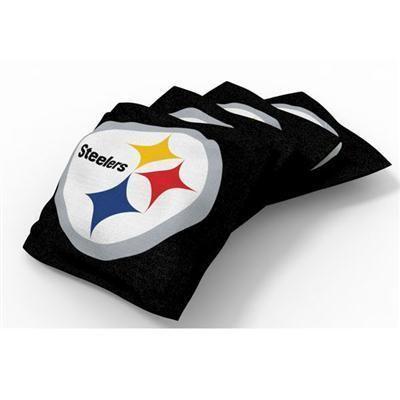 Xl Bean Bag 4pk Pitt Steelers