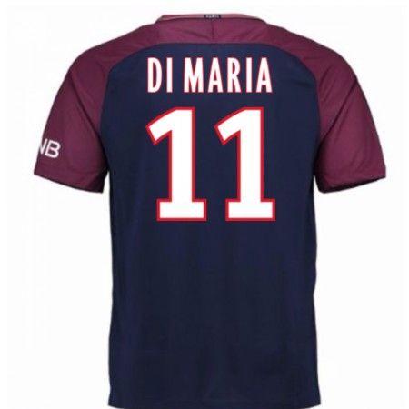 PSG Angel Di Maria 11 Hjemmebanetrøje 17-18 Kort ærmer #Billige #Fodboldtrøjer