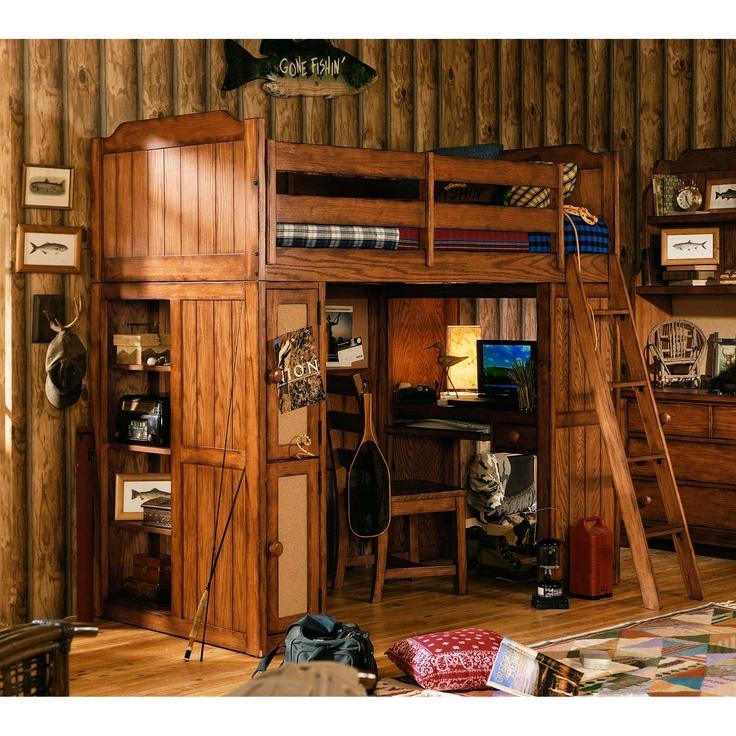 68 Best Loft Beds Images On Pinterest