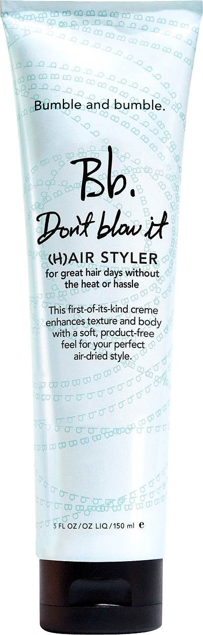 Bumble and bumble Don't Blow It (H)Air Styler - apply to damp hair to help keep it smooth