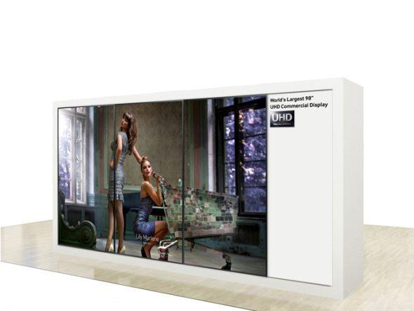Mit dem aktuell größten LFD in Ultra HD kommt Samsung nach Berlin (Foto: Samsung)