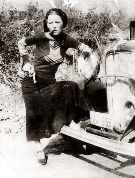 Bonnie Parker 1933