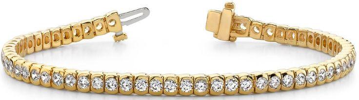 Diamantarmband mit 3.00 Karat Diamanten aus 585er Gelbgold bei www.diamantring.be für nur 4190.00 Euro Versandkostenfrei bestellen.