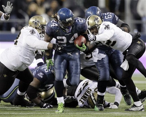 lynch moving the pile!