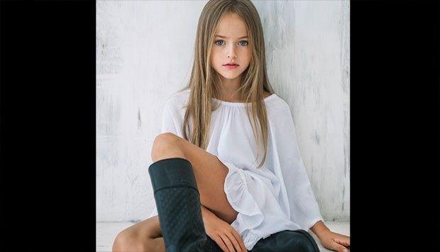 Bocah 9 Tahun Asal Rusia Dianggap Perempuan Tercantik di Dunia #rusia #girl