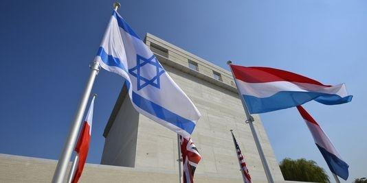 Le Musée de l'Holocauste et des droits de l'homme Kazerne Dossin à Malines, en Belgique. | AFP/DIRK WAEM