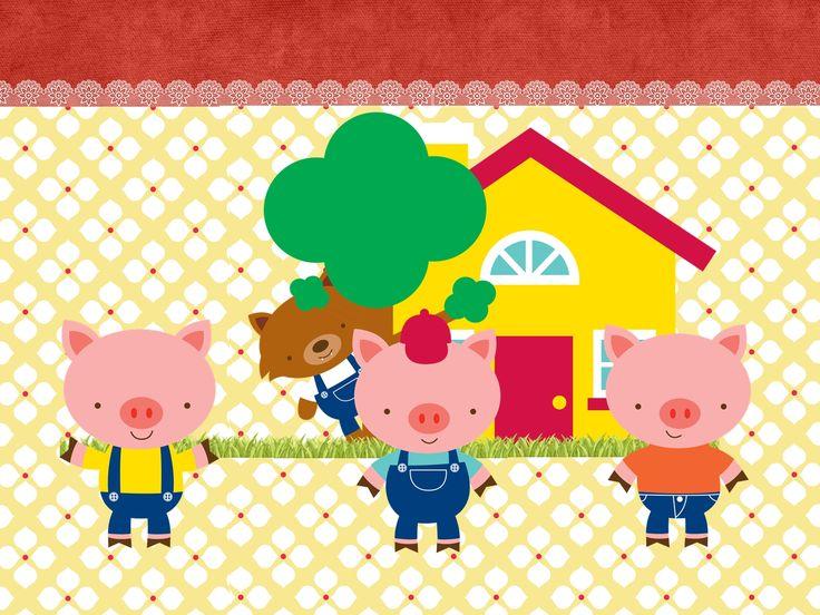 25+ Melhores Ideias Sobre Desenho Tres Porquinhos No