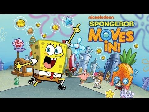 SpongeBob Moves In - iPhone/iPod Touch/iPad