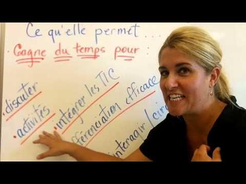 ▶ Message parents - pour la présentation d'une classe inversée