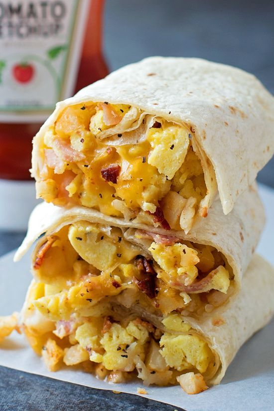 Freezer Friendly Breakfast Burritos Recipe Frozen Breakfast Breakfast Recipes Food Recipes