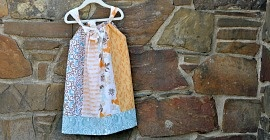 Pillowcase Dress, I made one yesterday, so cute!