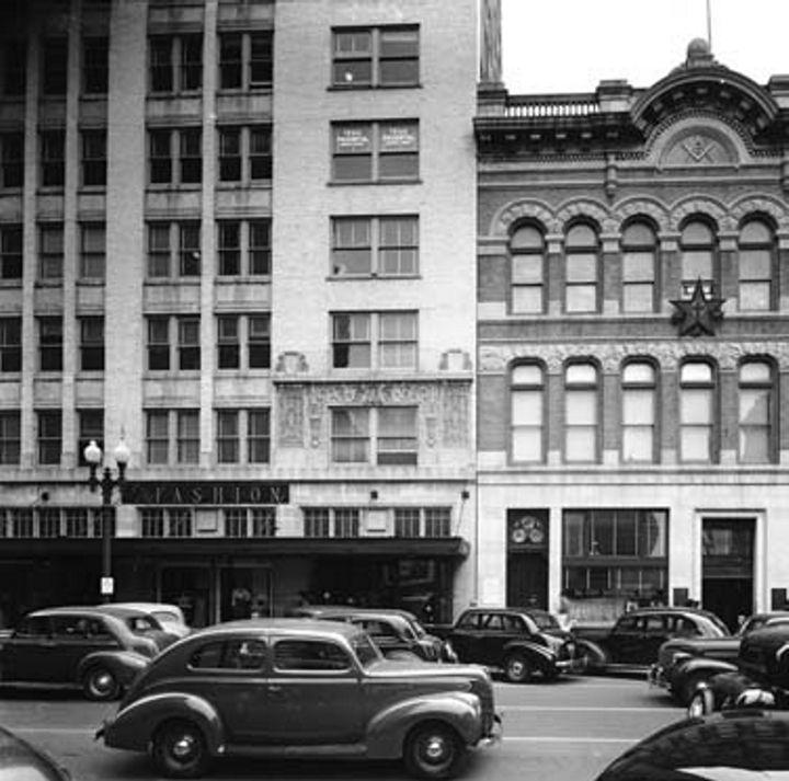 Neiman Marcus 917 Main Street Houston, TX in 1955. #Houston #history