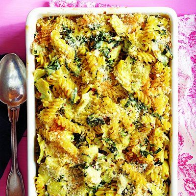 Spinach and artichoke baked pasta recipe - Chatelaine.com