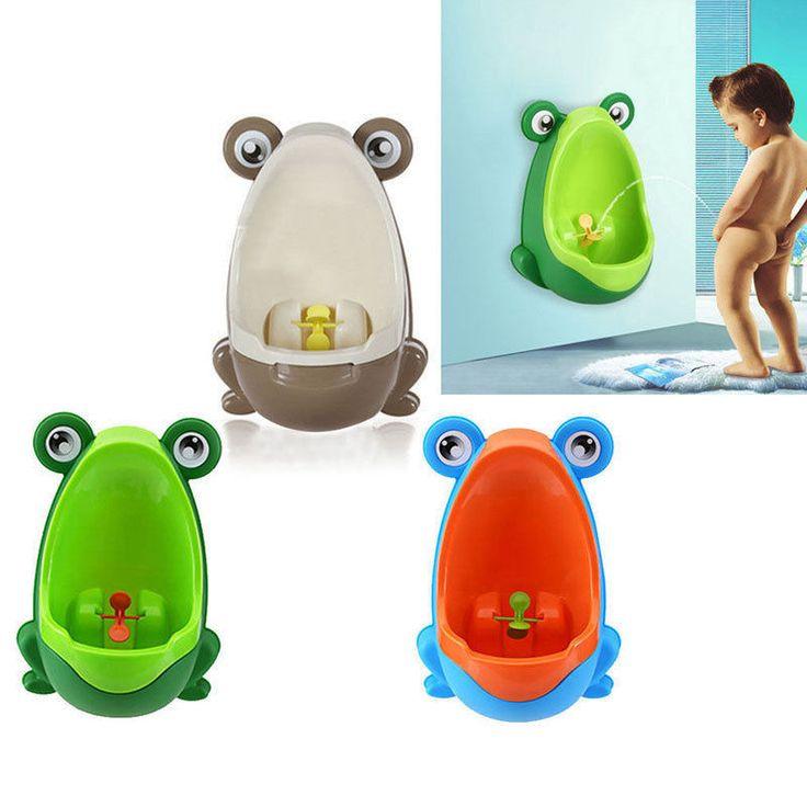 Boys Children Kids Frog Potty Urinal Pee Toilet Training Trainer Bathroom urinal #Unbranded