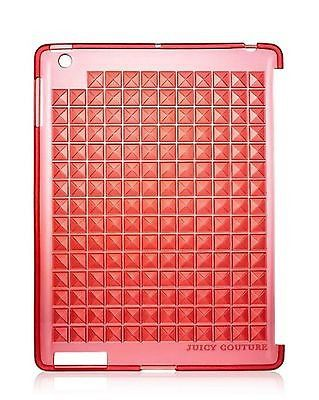 Juicy Couture Red YTRUT093 iPad 3G Case Pyramid Gelli Tablet Shell