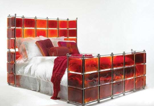 Stained Glass Bed