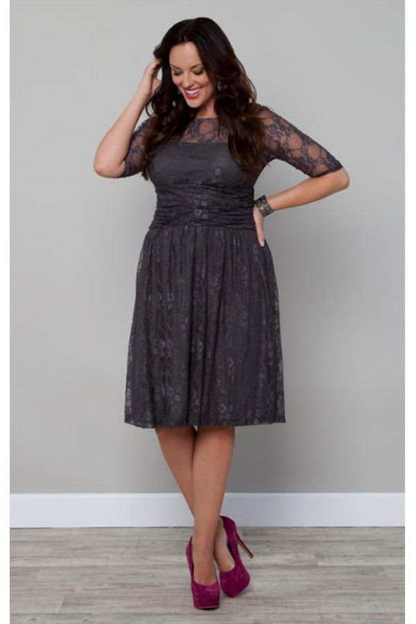 Saw this dress in person and its one of my absolute favorite Bridesmaid dresses. Actually a plus size dress but sizes do run lower.