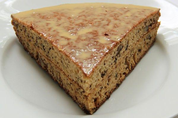 Рецепт очень вкусного торта с грецкими орехами
