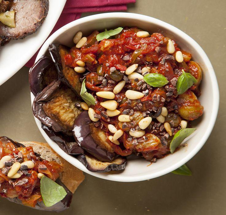 kitchen boss eggplant caponata%0A Eggplant Caponata  Joy of Kosher