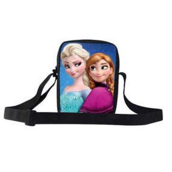 Frost skuldertaske til børn med flot motiv. Tasken er stor nok til at kunne indeholde en iPad mini