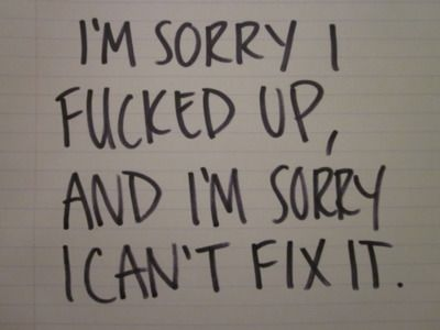 im sorry quotes - Google Search