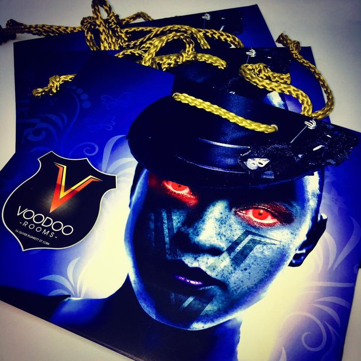 💥💥 Stand out from the crowd!! Get noticed!! 💥💥 Loving the new branded bags we made for Voodoo Rooms 👌👌👌